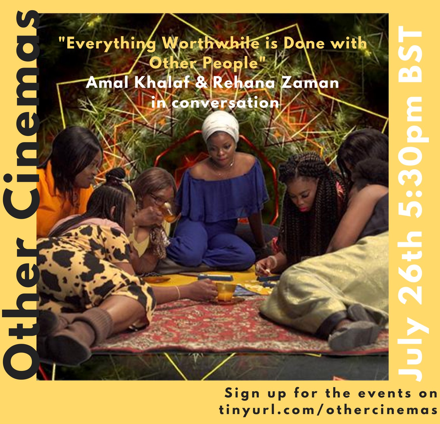 Amal Khalaf and Rehana Zaman in Conversation